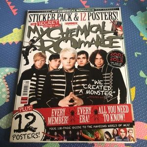 The secret history of MY CHEMICAL ROMANCE!!!